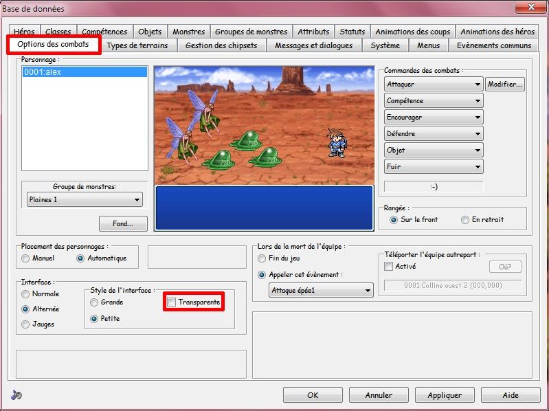 Avoir des fenêtres opaques sur RPG Maker 2003 - Astuce RM Sans-titre-26d45f9