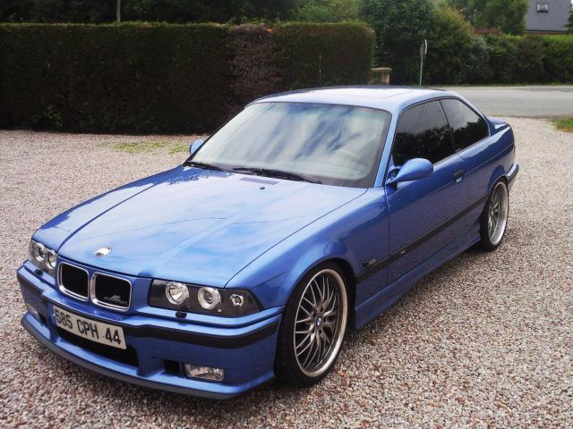 My Bmw M3 E36 3 2 Evo Bleu Estoril Racing West